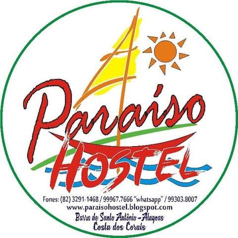 Quartos confortáveis/aconchegantes - Barra de Santo Antônio - Bed & Breakfast