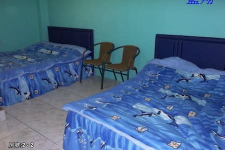 藍翔民宿 4人套房 - Lanyu Township - 一軒家