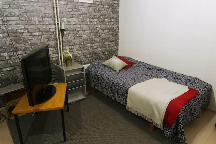 Cozy room with own sauna