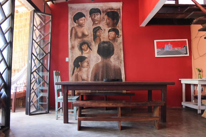 Casa Vermelha Itacaré - Itacaré - Casa de huéspedes