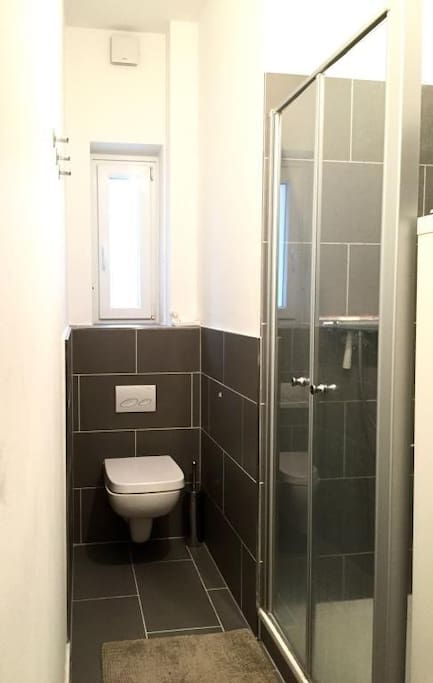 Our bathroom, completely refurbished.