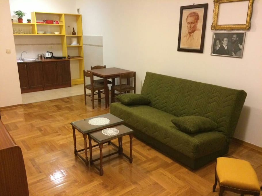 Living room&dining room&kitchen