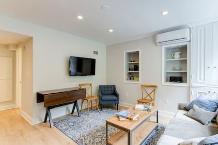 Historic 1BD Steps to Capitol, Metro & Everything
