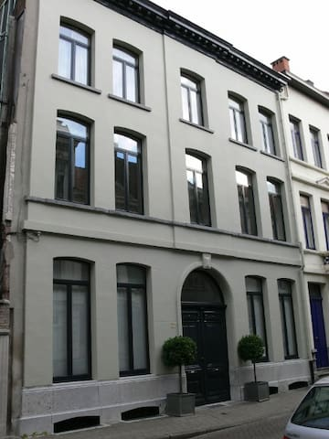 Cosy and spacious city apartment in a quiet street - Antwerp - Daire