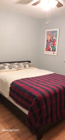 New Sweet the Green House- Bedroom (Queen)