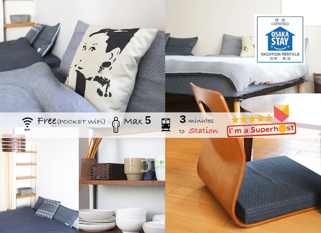 ♪AUTUMN SALE! GE-1002 Business town room in Namba
