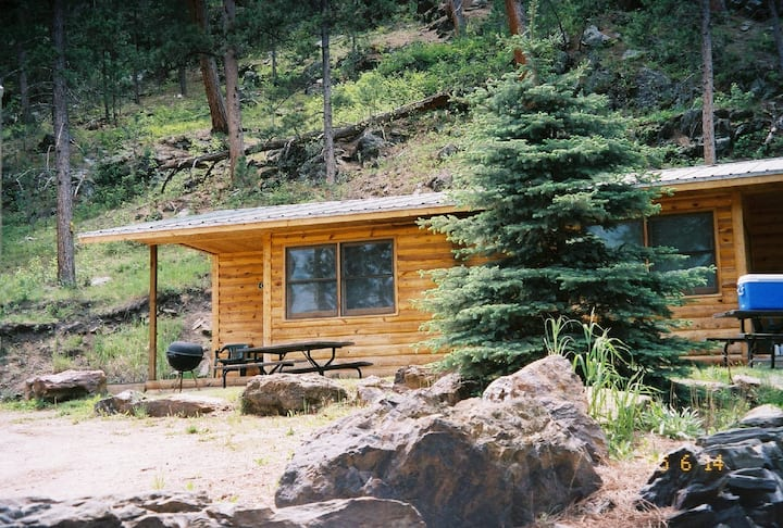 Dakota Cabin near Mt. Rushmore at Pine Rest Cabins