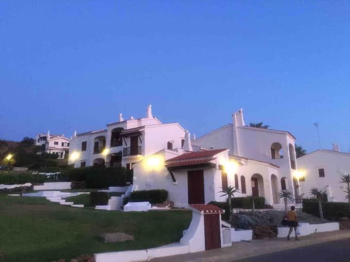 Fornells Platges  reformado con terraza privada
