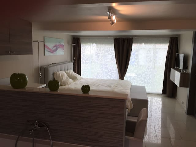 Gastenkamer/studio met privé sauna