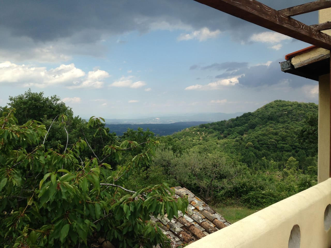 Panoramic vew from terrace