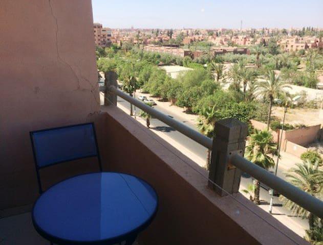 Appartement avec tres belle vue - Marrakesh - Apartment