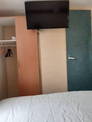 Mobile home lumineux pour un séjour paisible