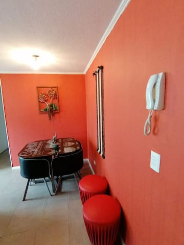 Cálido depto en Condominio Porteño