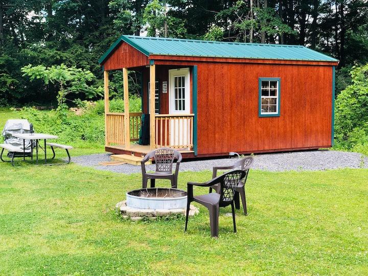 Seneca Heights Cabins - Wine on the Pond