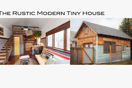The Rustic Modern Tiny House - Portland - Hus
