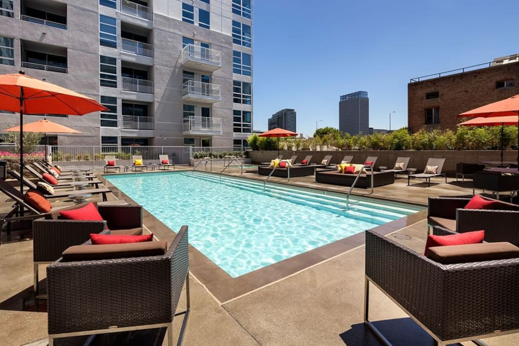Panoramic View Modern One Bedroom Apartments For Rent In Los Angeles California United States