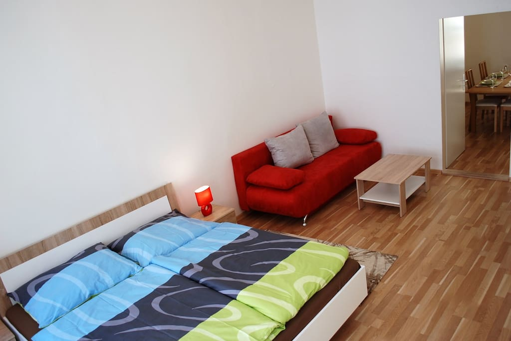 Do you like my offer? Are you interested? They can answer all questions. Book your apartment, go through the payment procedure. Equipment: bed linen, towels atc.. Come to Prague.