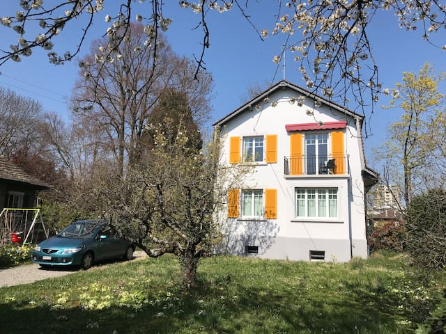 Spacious room in villa ideally located in Geneva