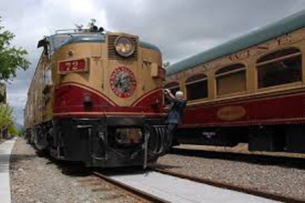 Minutes from the famous Napa Wine Train!