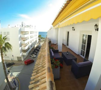 beach view terrace, wifi ,2 bedroom - La herradura - Apartament