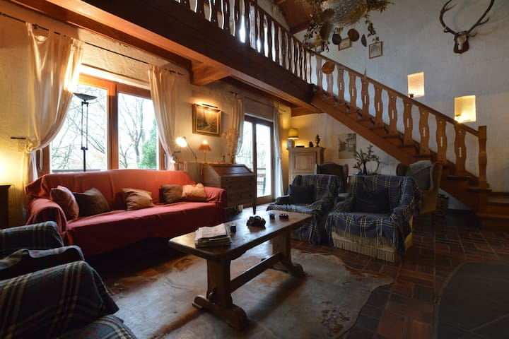 A comfortable chalet