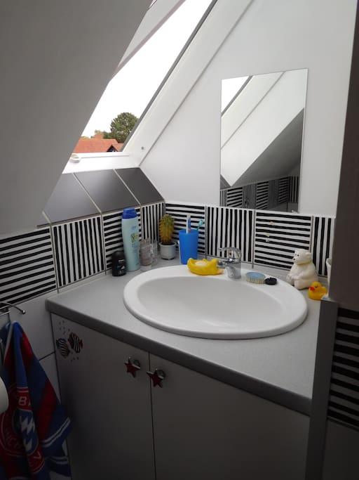 WC direkt nebenan