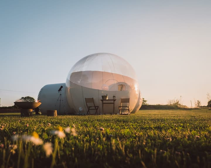 🌟The Sleeping Bubble Hotel Glamping Experience🌟