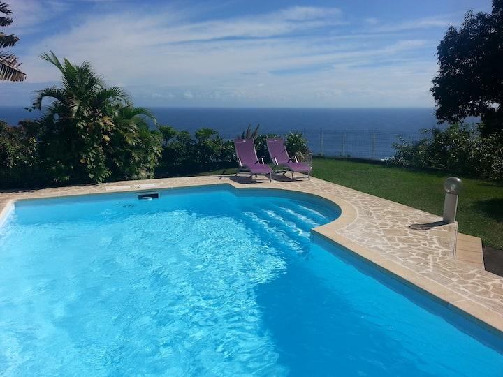 bas de maison - 70 m² - vue lagon TAHITI