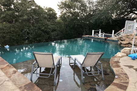 The Pedernales River Cabana