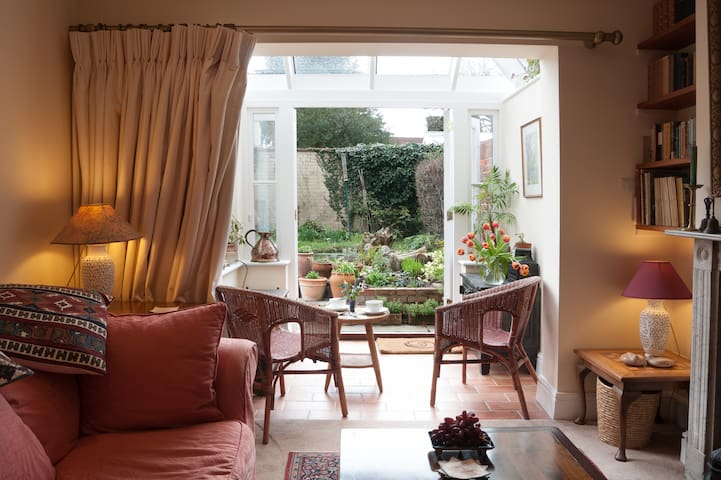 Cosy hideaway - relaxing, peaceful and private - Wallingford - Huis