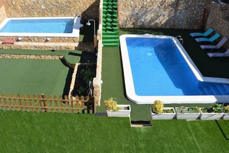 Villa  Sitges La Pineda 2 Pools. 1 for Kids. - Sant Pere de Ribes