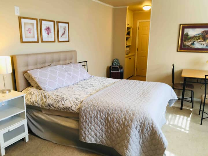 Private suite next to DFW for Individual/Family