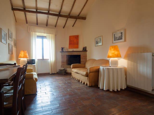 Castello di Sismano Casa Verde apt - Avigliano Umbro - Byt