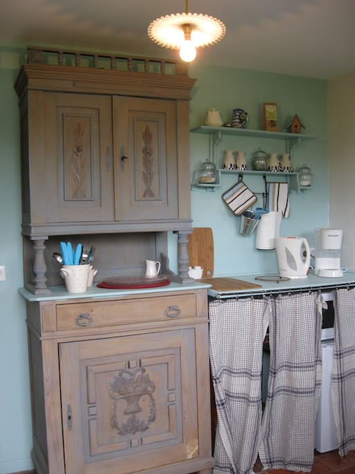 La verri re un instant bleu bed breakfasts te huur in prisches nord pas de calais - Verriere kamer ...