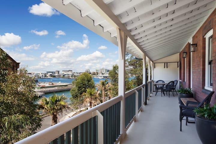 Stunning Heritage Apartment with Massive Balcony!