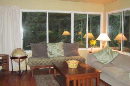 2 bdrm - Redwoods, River & Ocean - Casa