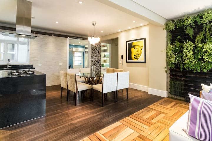 Style, luxury and comfort in apt in Jardins area