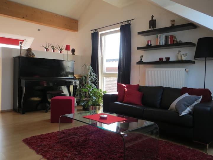 Gemütliches Dachgeschoss-Studio