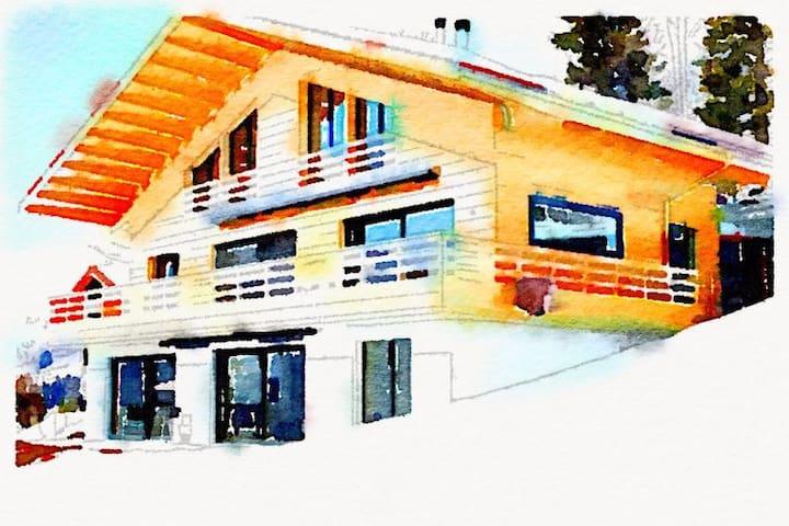 Wunderschöne Aussicht in Lenk - Lenk im Simmental - Apartment