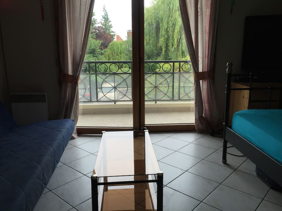 Large Studio, 20min from Paris and 10min from CDG  ~ Rer B Aulnay Sous Bois
