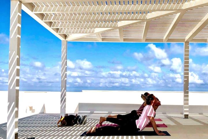 Yoga: Roof Terrace