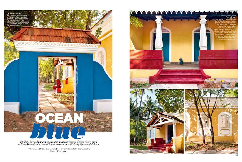 Featured in Architectural Digest p1