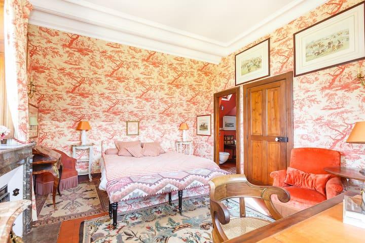 Chambre Orange - Parigné-le-Pôlin - Zamek