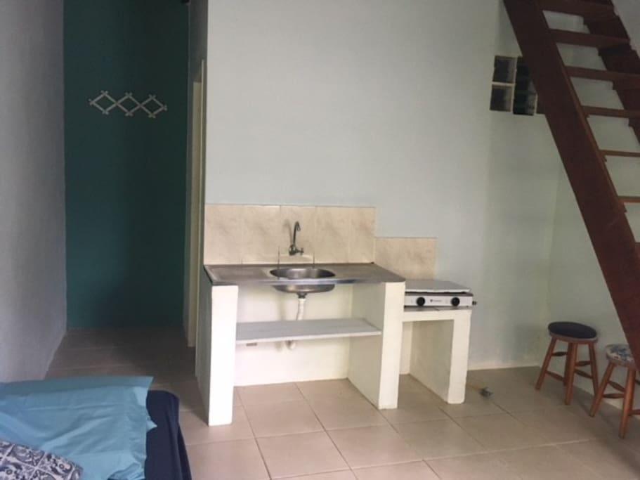 Sala / cozinha - térreo