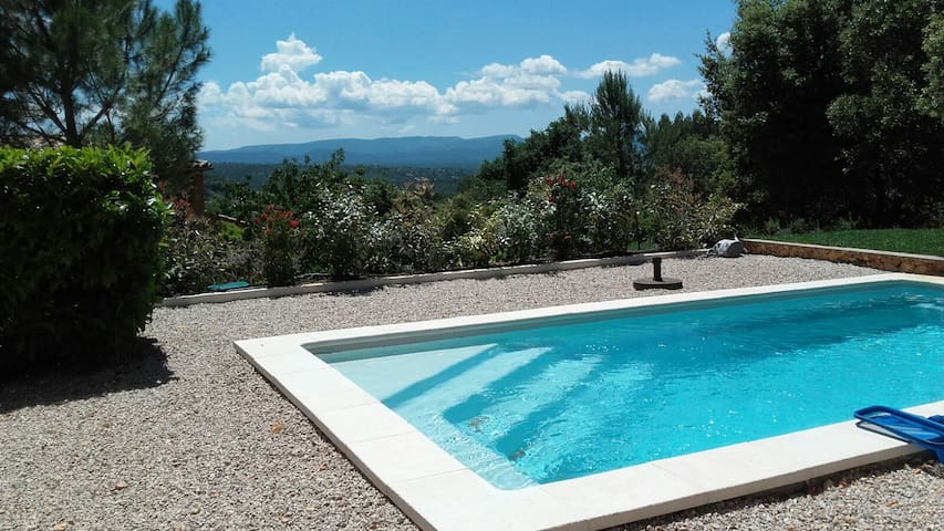 Villa with stunning view - Seillons-Source-d'Argens - Huis
