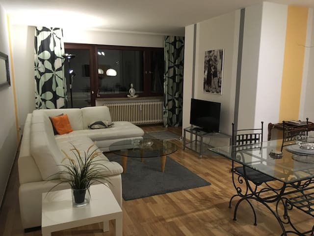 BIG FLAT WITH 5 SLEEP PLACES NEAR BY THE BORDER - ザーブルッケン (Saarbrucken) - アパート