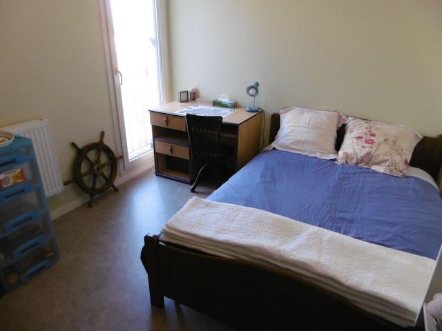 Chambre (B) dans appartement VERBERIE OISE - Verberie - Apartamento
