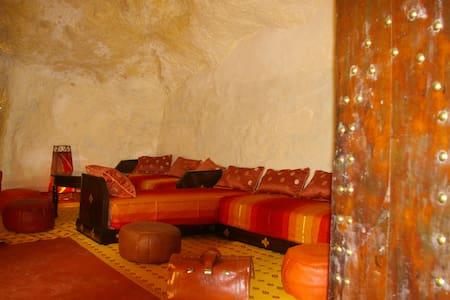 Maison troglodyte Bhalil-Fés Maroc - البهاليل - 獨棟