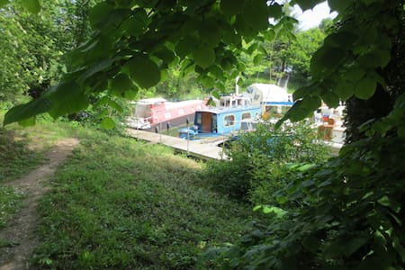 Houseboat- 20min from Paris RER D - Saint-Mandé - Barco