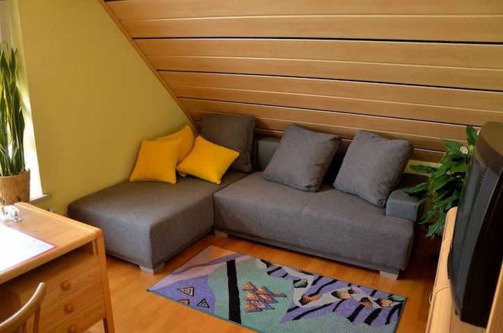 Schöne Dachgeschosswohnung - Redwitz an der Rodach - บ้าน